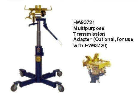 jacks lincoln 1 2 ton air hydraulic telescopic transmission jack