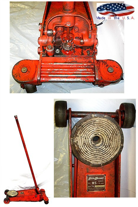 Hein Werner 1 1/2 Ton Floor Jack Reconditioned Made In The USA